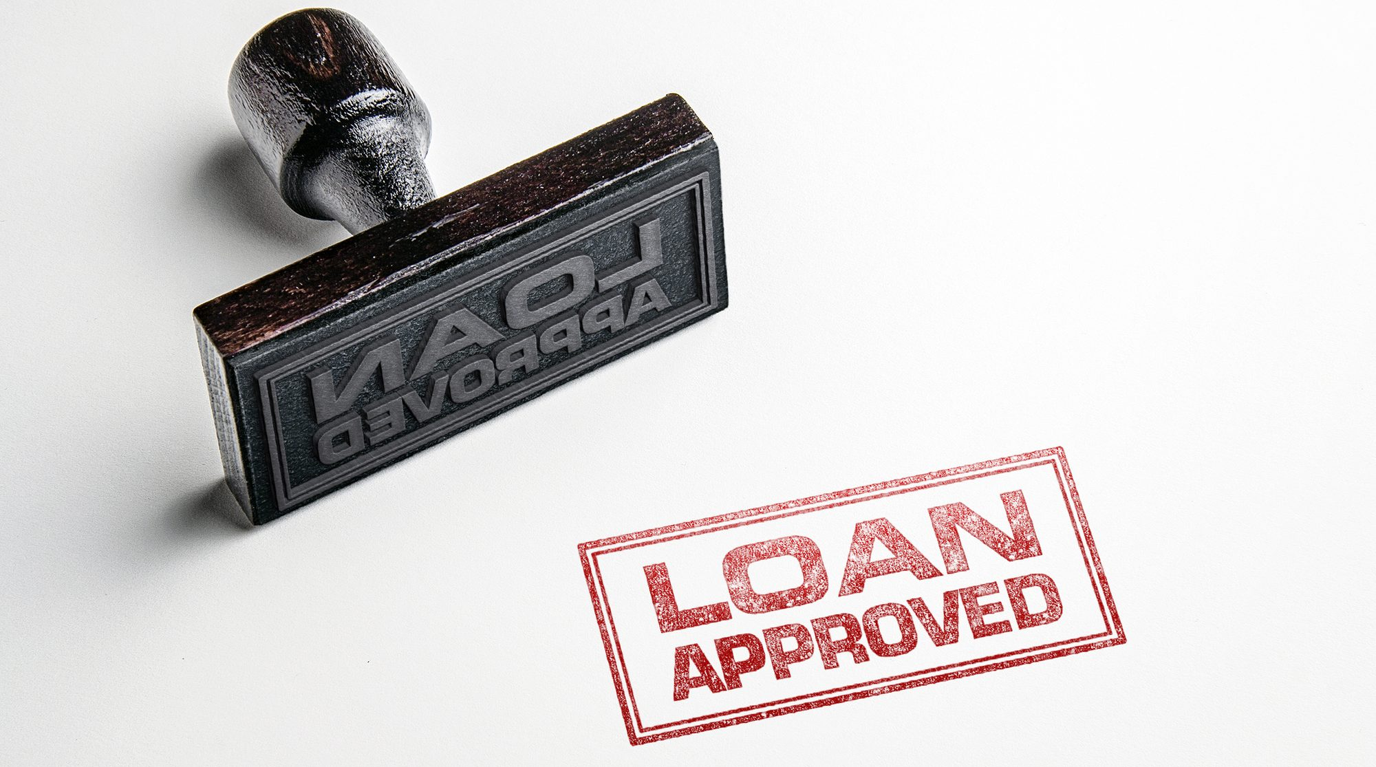 Loan Approved Rubber Stamping